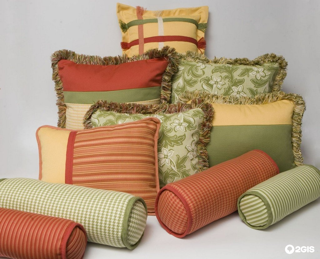 Декоративная подушка для дивана своими руками 45