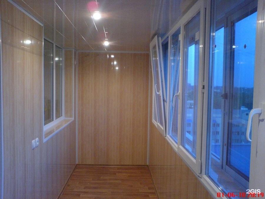 Балкон гранд сервис - окна - строительные, отделочные матери.