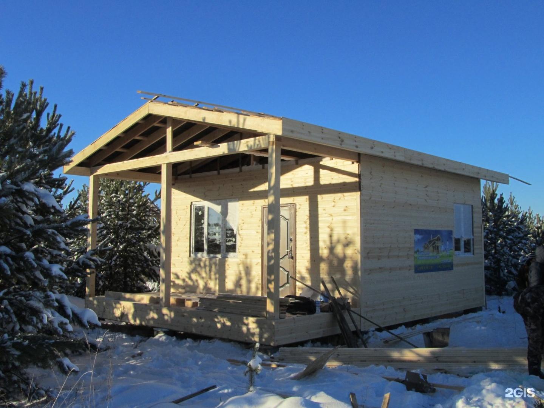 Дачный домик одноэтажный каркасный своими руками