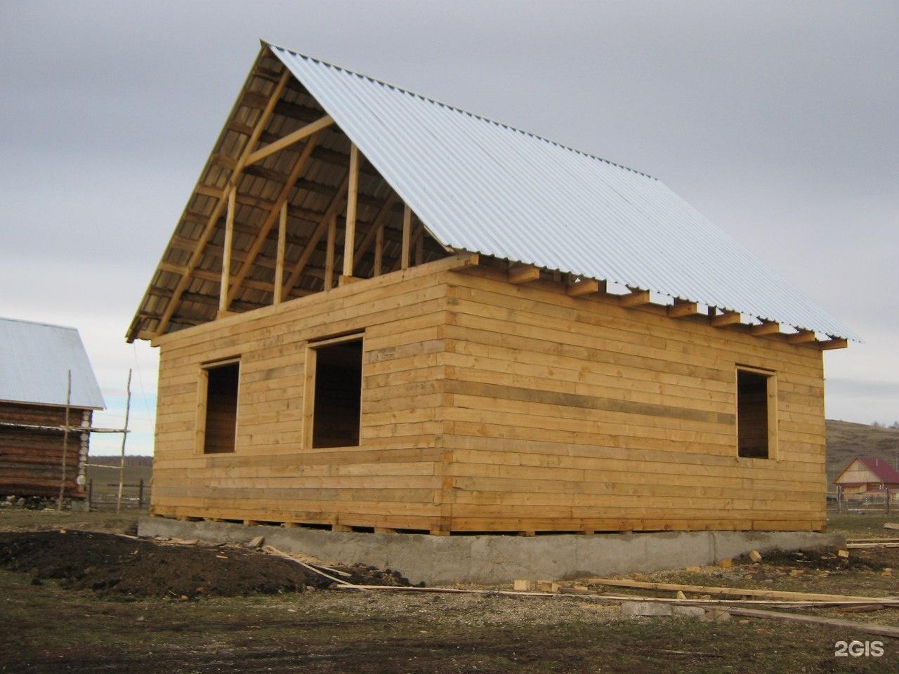 Строительство дома своими руками под ключ из бруса 15