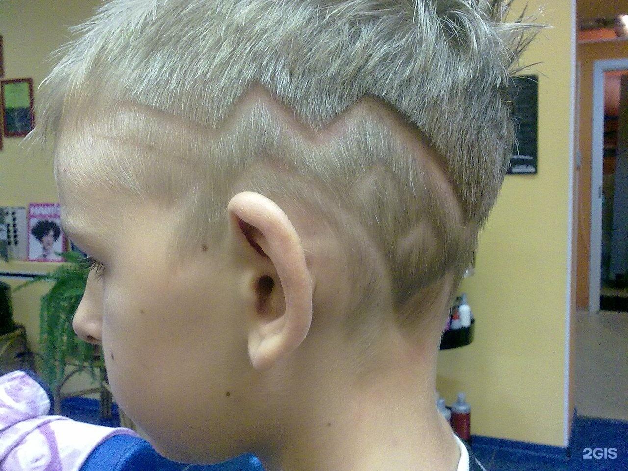 Модный причёски с рисунками