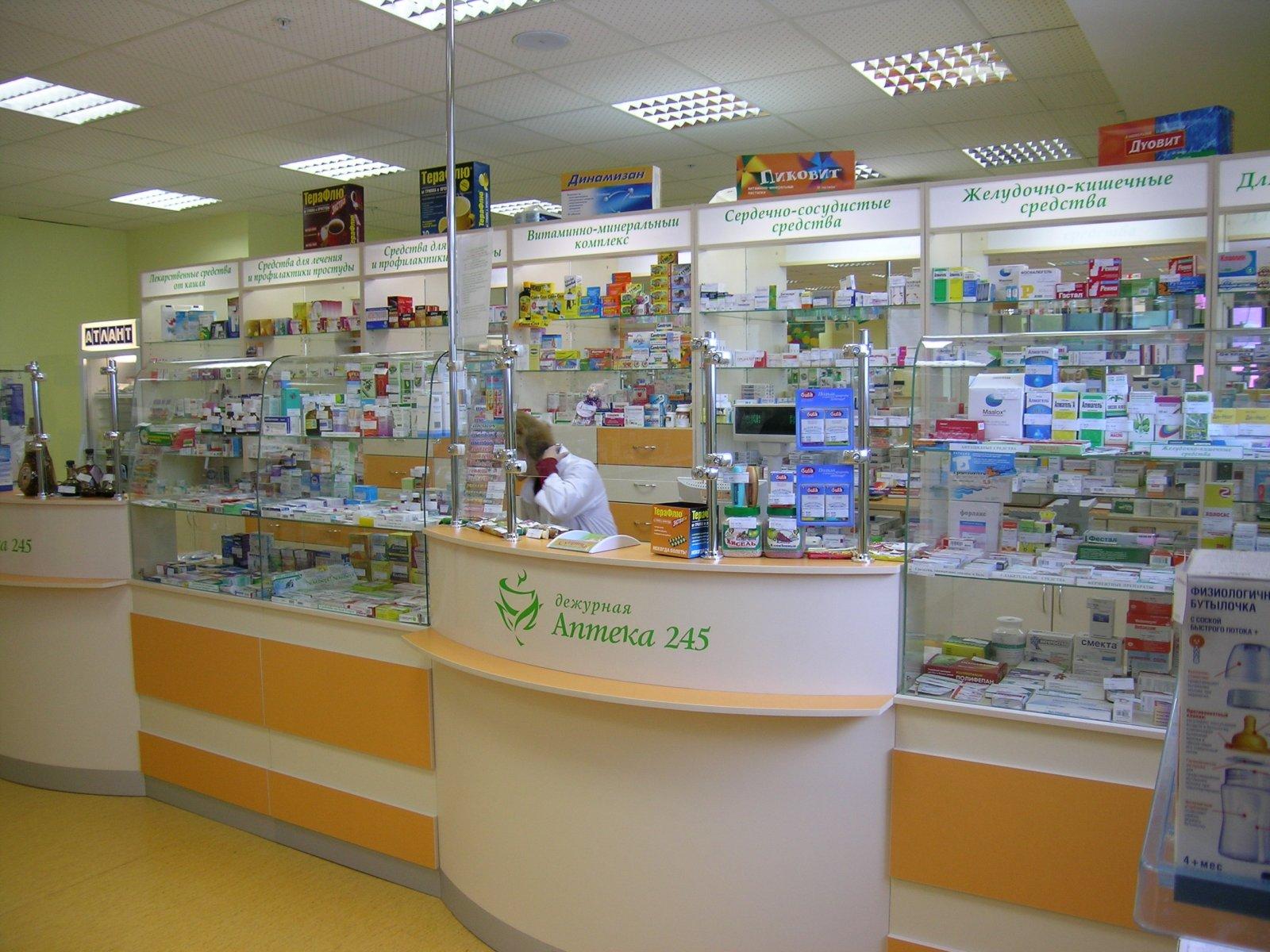 Дежурная аптека в новый год