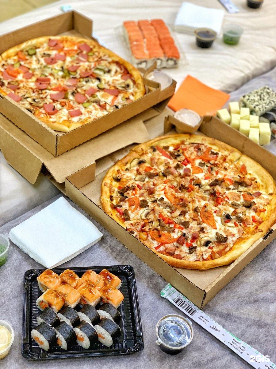 Картинки роллы и пицца доставка