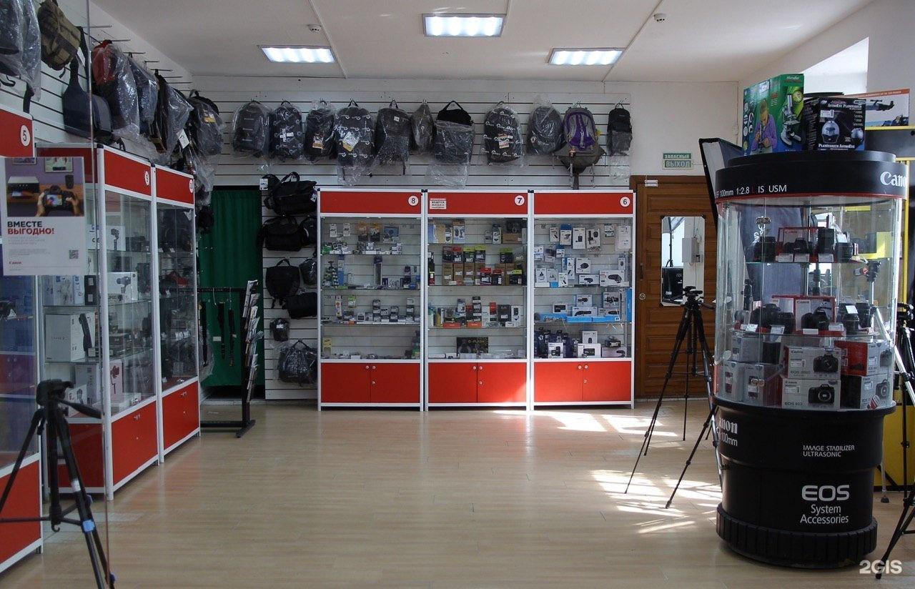 Крупные магазины фототехники в москве
