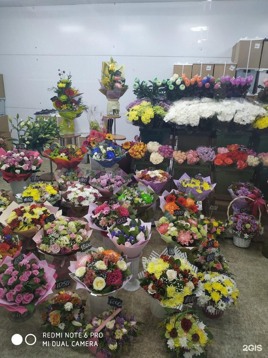 Магазин цветов, оптовая база цветы тюмень