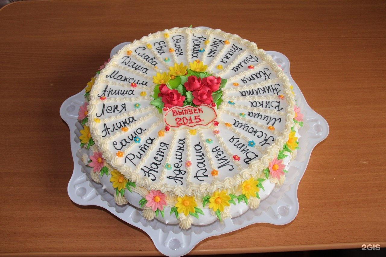 Картинки тортов на выпускной