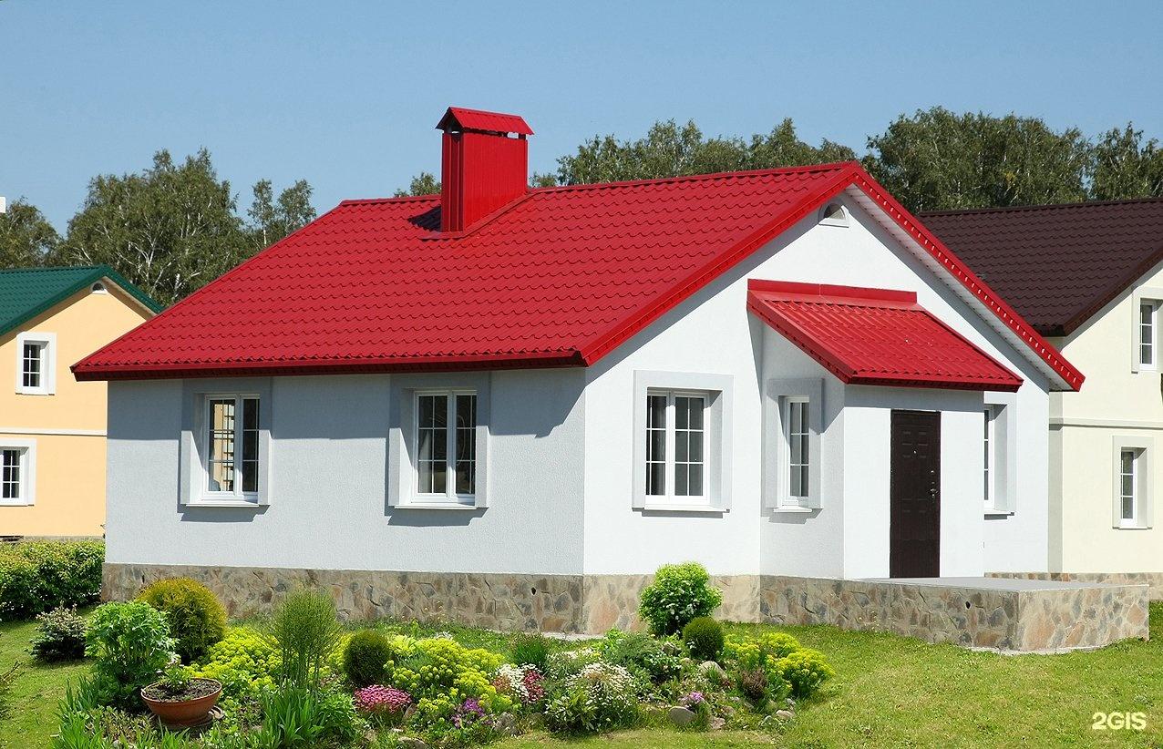 выразить европейский дом с красной крышей фото кокетливо засветила