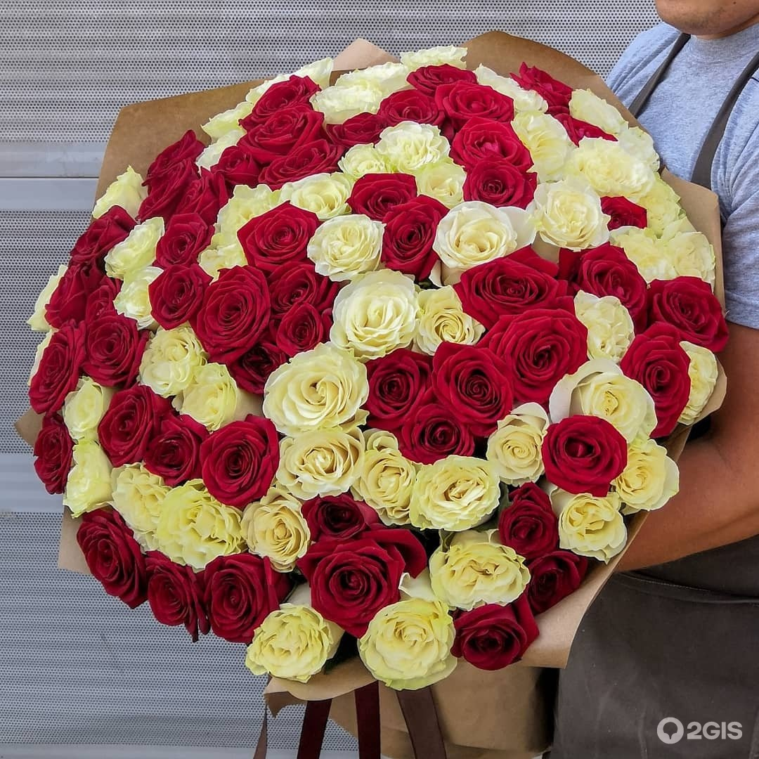101 роза в челябинске