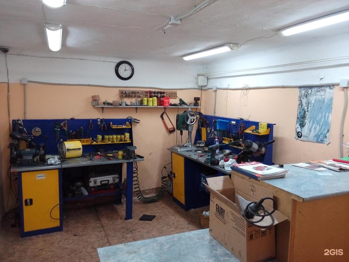 картинка ремонтной мастерской идеален