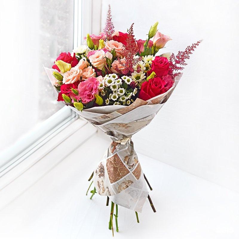 Где купить дешевле цветы в казани, свадебные