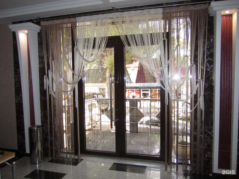Тюли на витражные окна фото