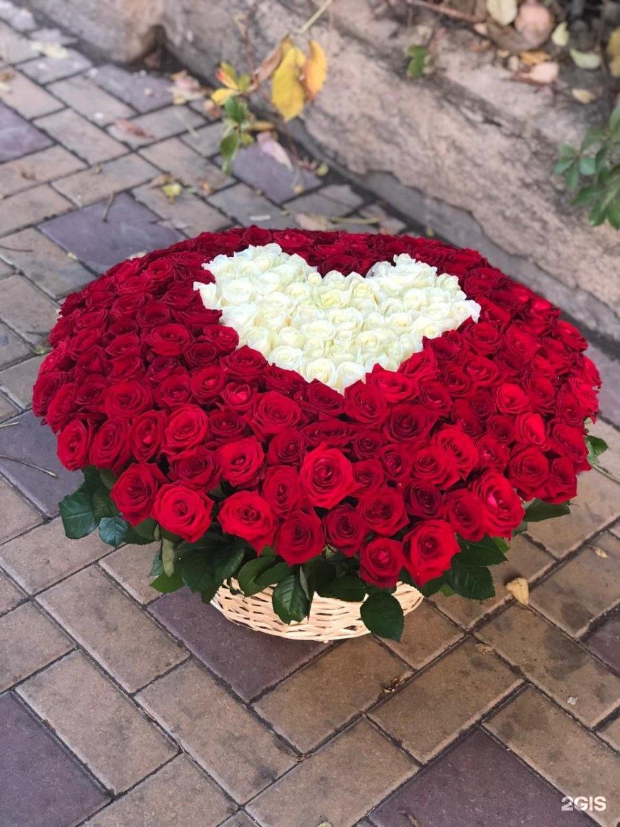 фотографии больших букетов роз