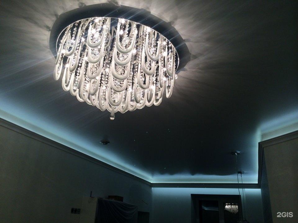 Натяжной потолок в томске фото