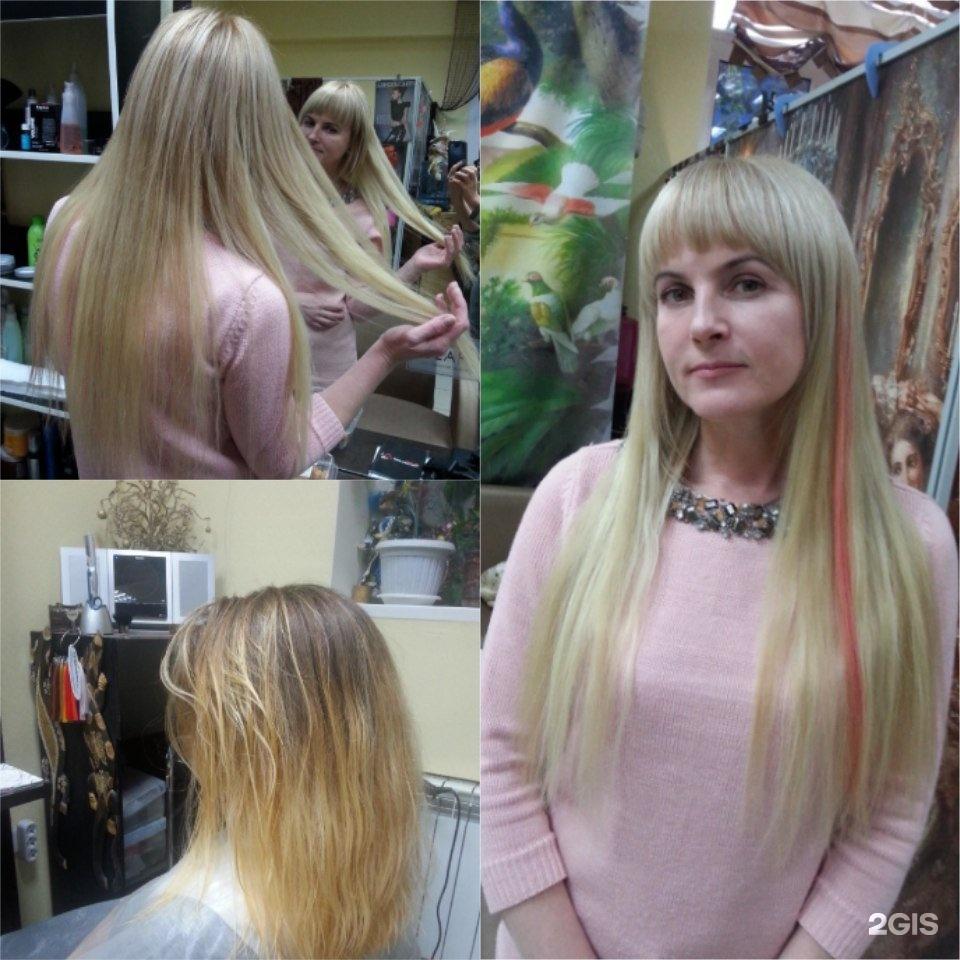 состоит стрижка эффект нарощенных волос фото стоит