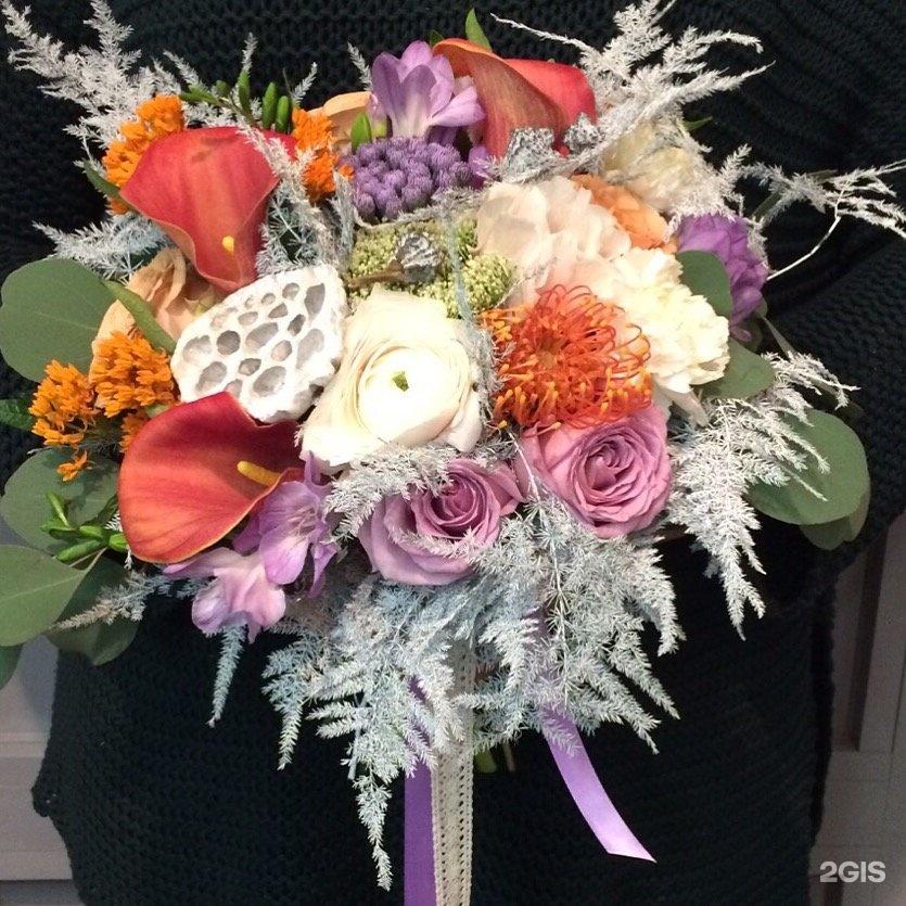 Цветы новослободская, необычные букеты осенний бульвар