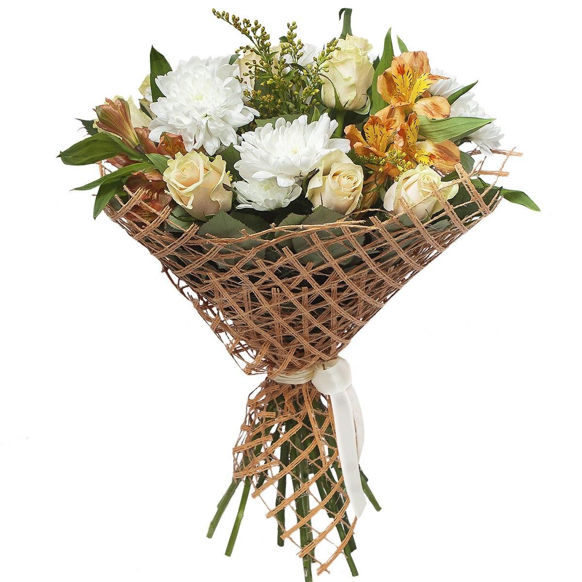 Цветов, оформление свадьбы букетов цветов сеткой