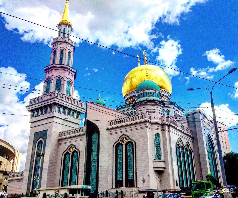 Новая московская соборная мечеть фото