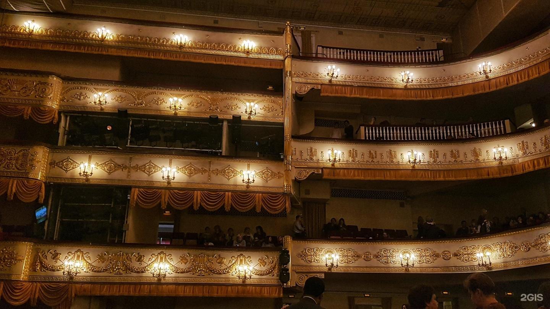 Московский театр оперетты фото зала