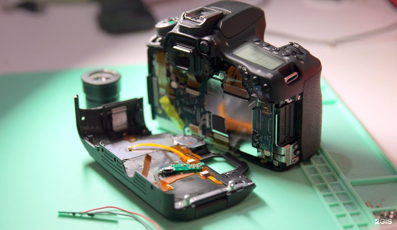 ремонт качественно фотоаппаратов немного