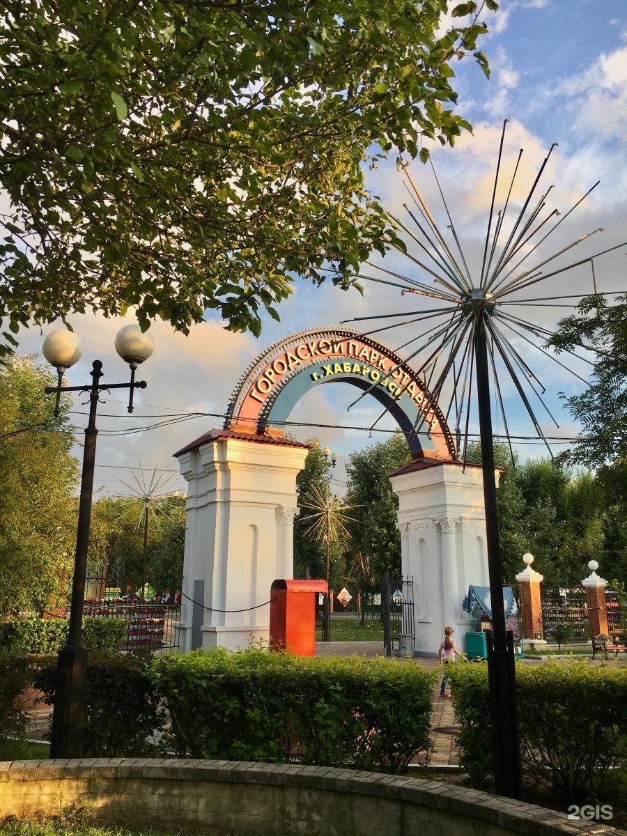 центральный парк хабаровска фото был какой-то бардовый