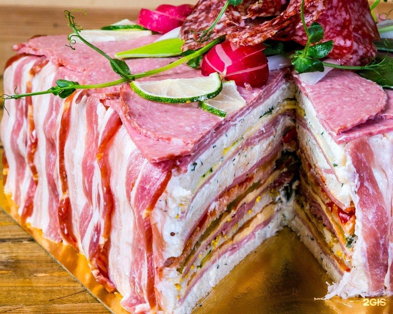 крымском мясной торт рецепт с фото пошагово текстилем