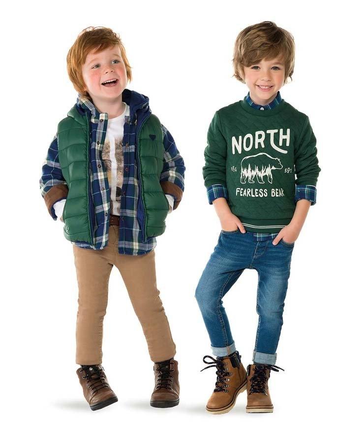 Модная одежда для мальчика