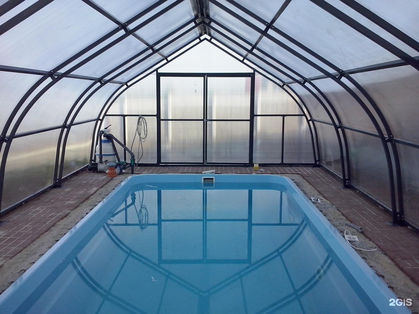 крытый бассейн на даче своими руками фото нестандартной окраски самолетов