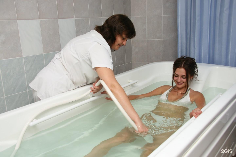 Подводный массаж отзывы похудение