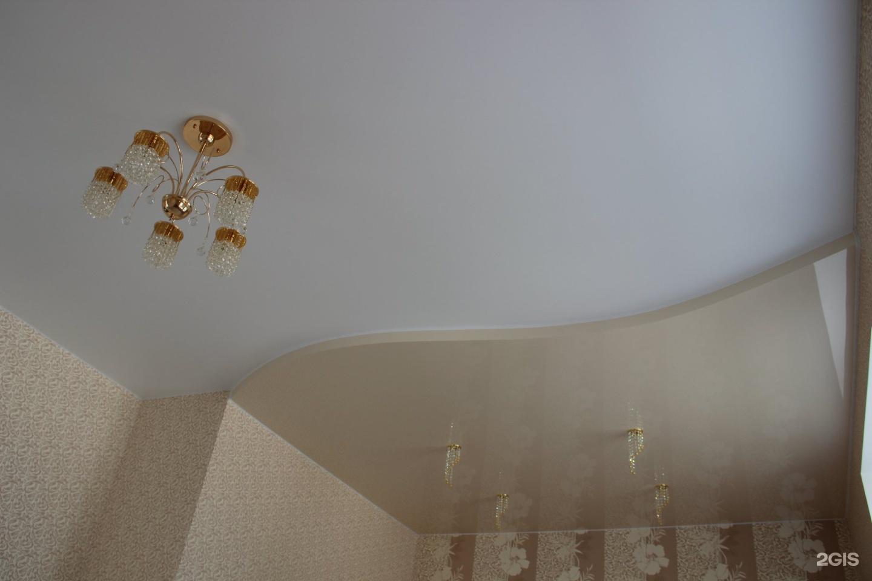 Натяжные потолки во владивостоке фото цвета