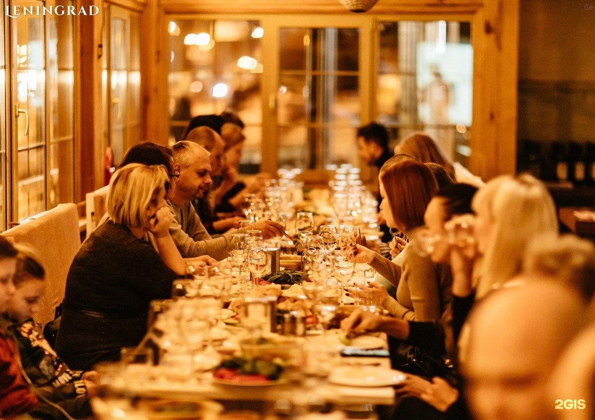 Фото из ресторана ленинград тверь