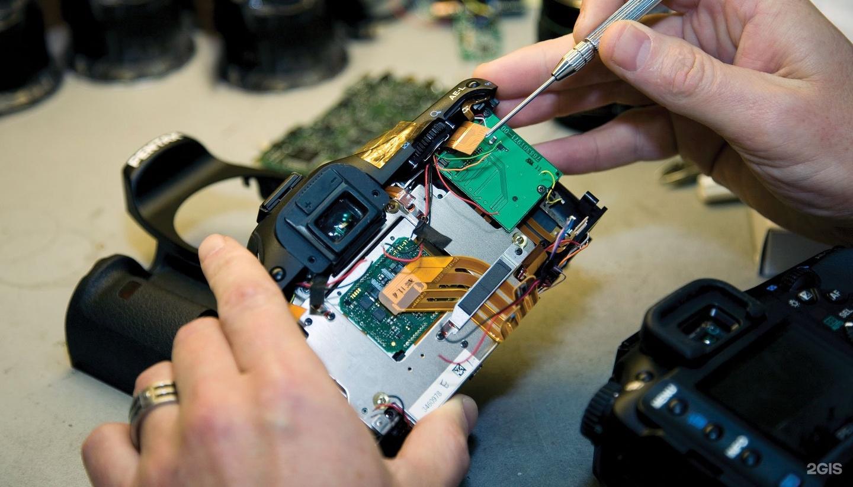 ремонт залитого фотоаппарата очень