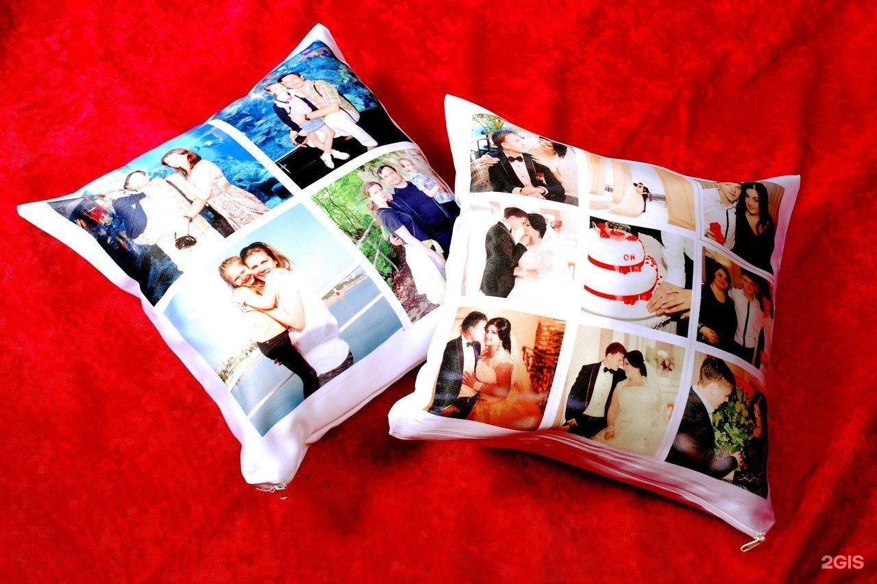 Где можно сделать подушку со своей фотографией