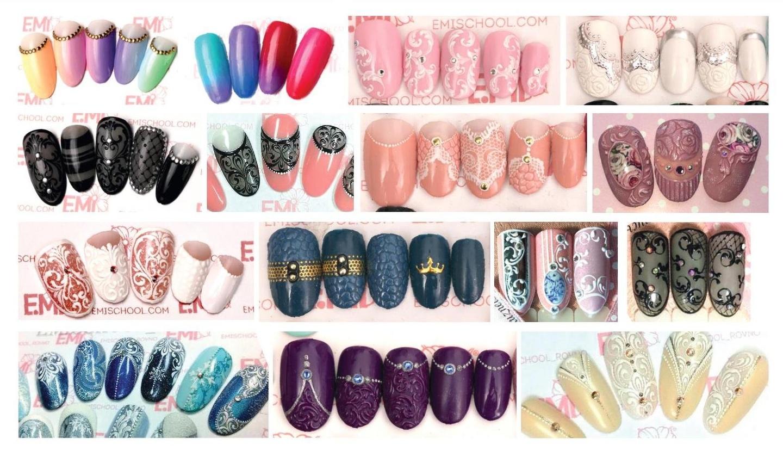 Эми дизайн ногтей фото