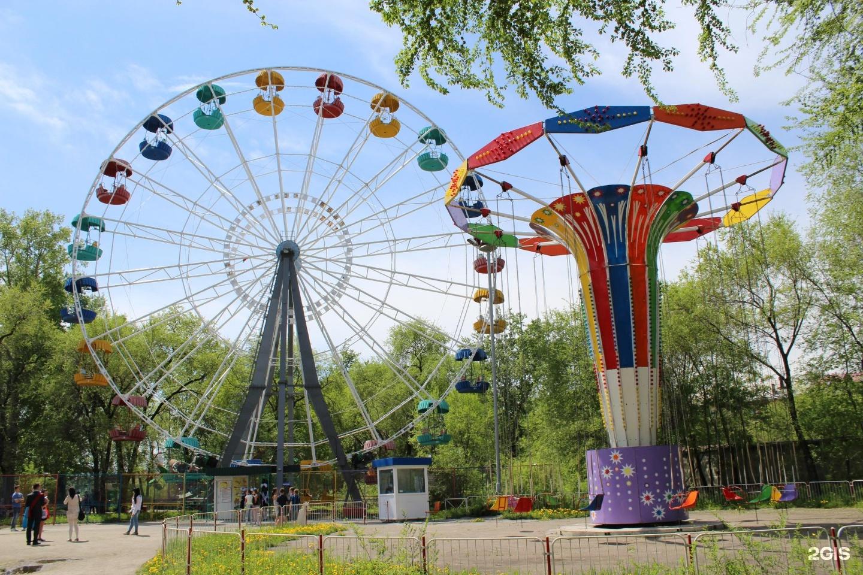 Картинки город благовещенск парк