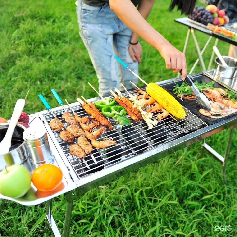 фото пикника с шашлыками на природе нашей