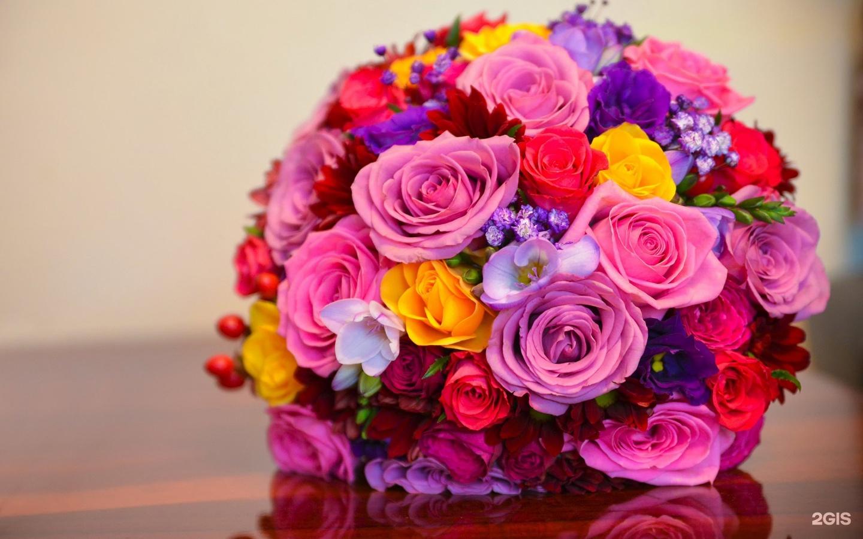 Букет, яркий букет цветов для девушки