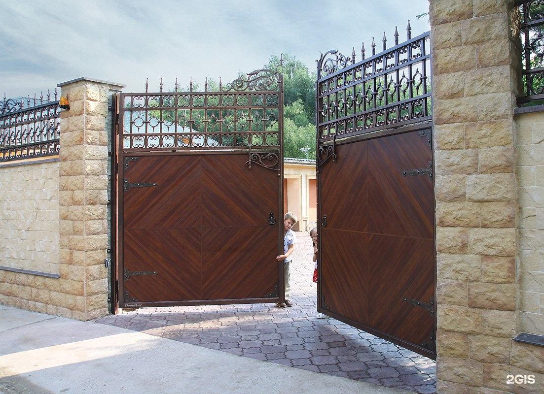 распашные ворота дорхан фото рекомендую