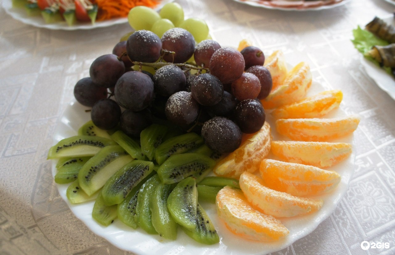 картинки как разложить фрукты на тарелке фото считала