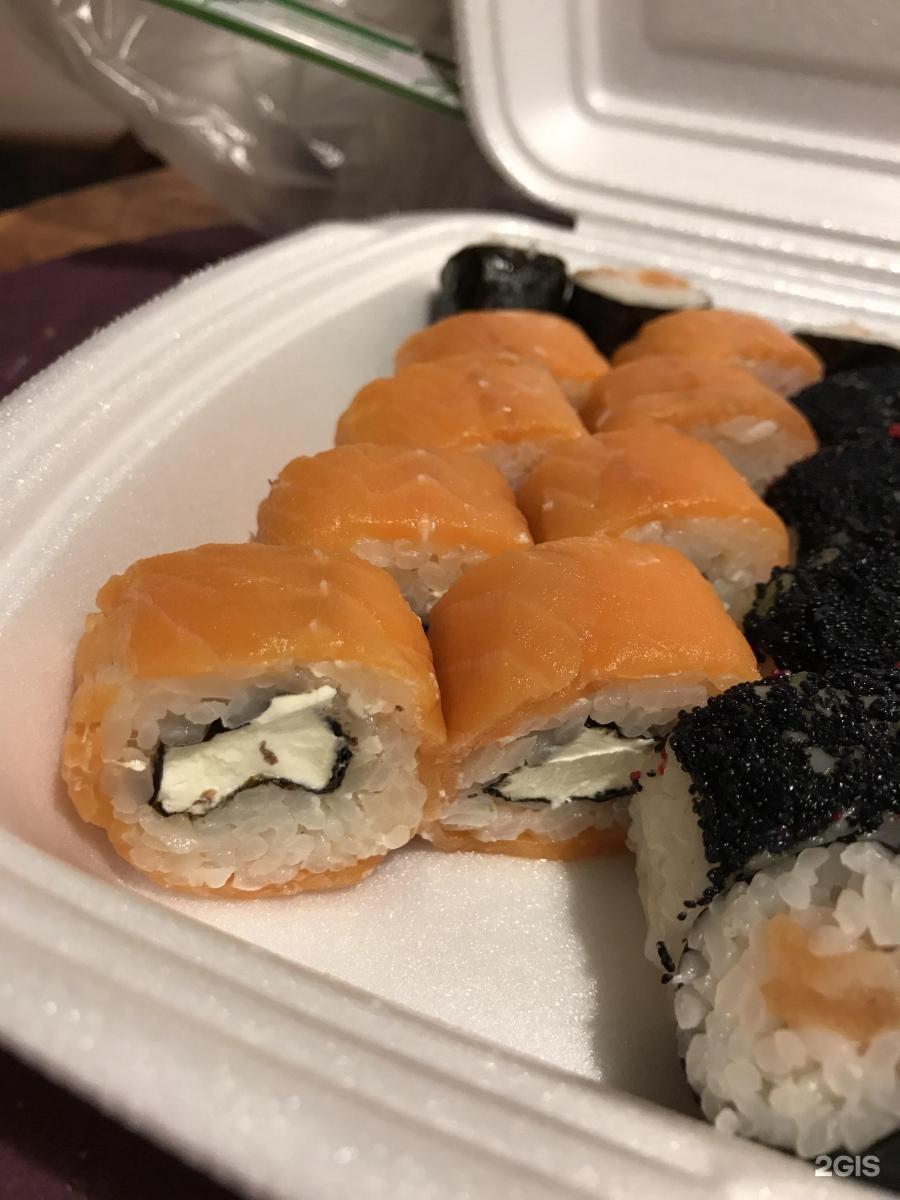 На странице «суши & fresh» магазин японской кухни представлена основная информация о компании.