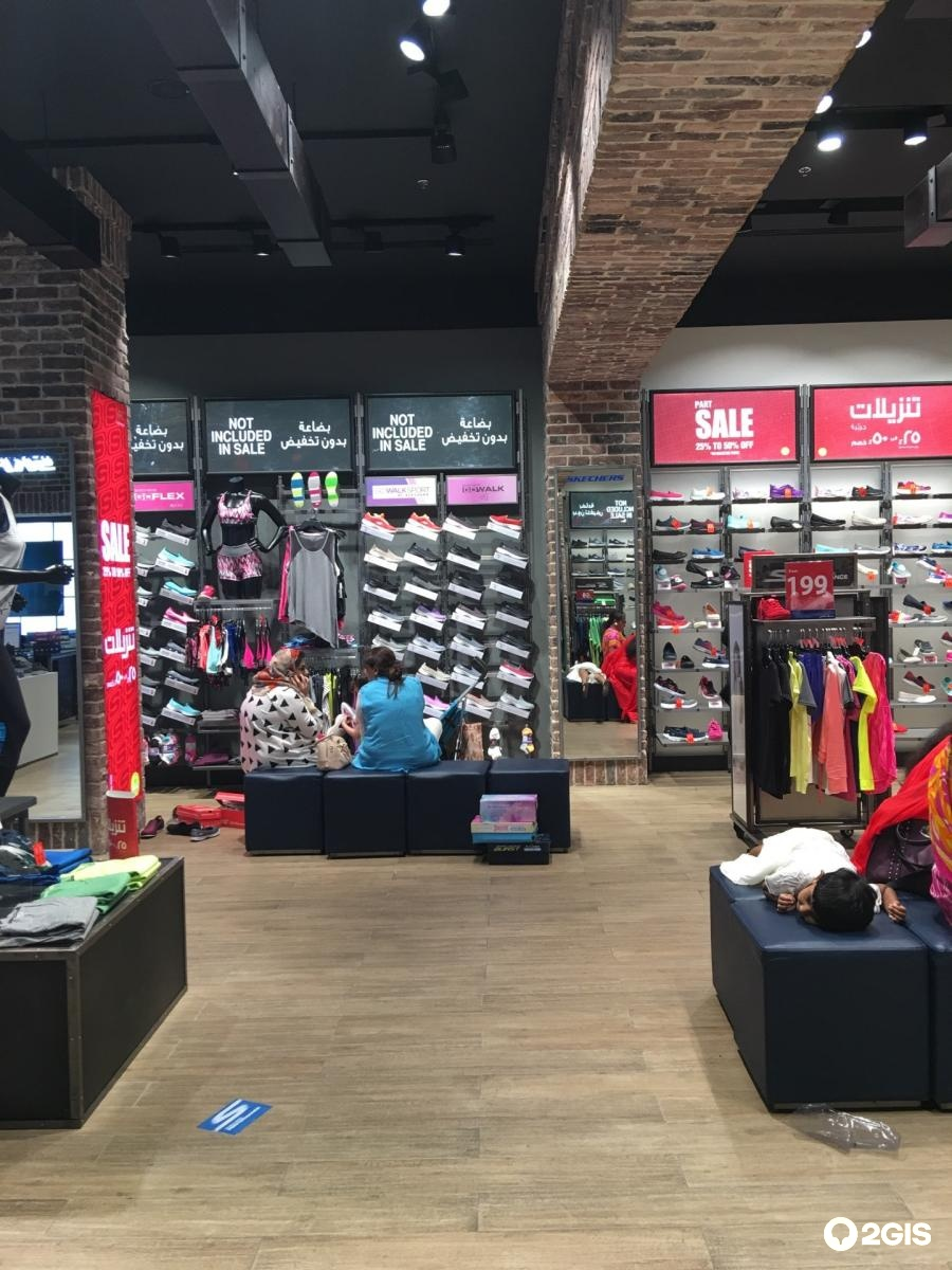Skechers, shoe store, Mall of the