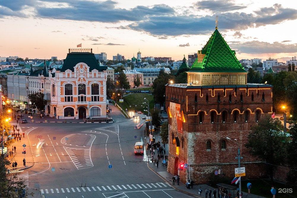 Нижний Новгород с выездом из Саратова