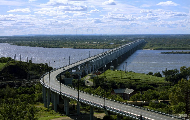 мост через амур хабаровск фото рыжих ревунов кишечник