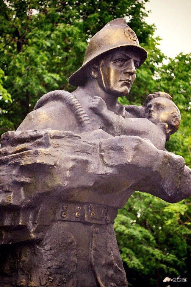 памятник пожарным картинки богатому литературному