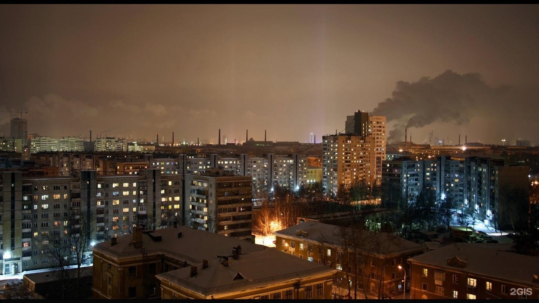ночные фото уралмаша